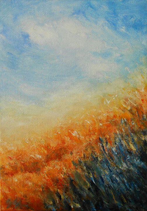 Blue Flowers 2 - Jane See