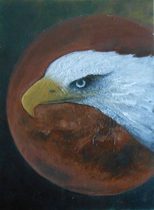 Eagle and Red Moon - Jane See