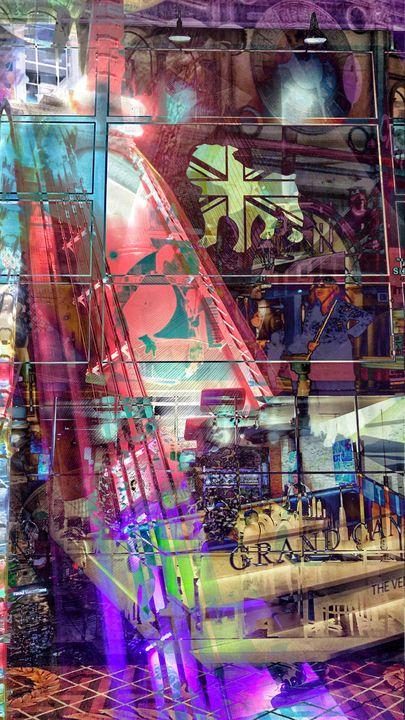 Cyber Shopper - Brice Duncan Artworks