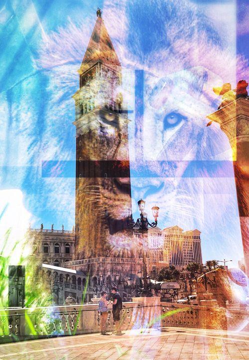 The Lion & the Lamb - Brice Duncan Artworks