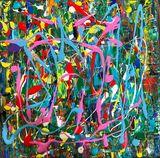 Pollock like Painting