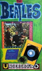 Beatles on u underground with 54lp p