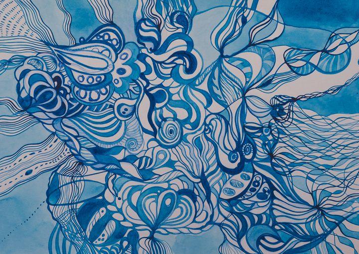 Fractal of life - Inita Blumberga
