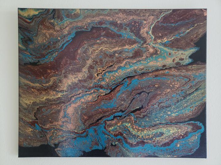 30,000 foot view - Fluid Souls Art