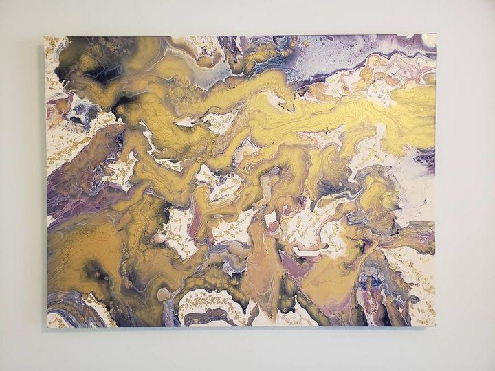 Gold Rush - Fluid Souls Art