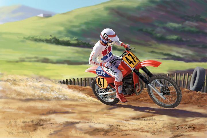 Phil Larson at Saddleback - Byron Chaney's Illustration and Design