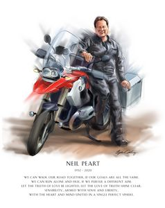 Neil Peart - Byron Chaney's Illustration and Design