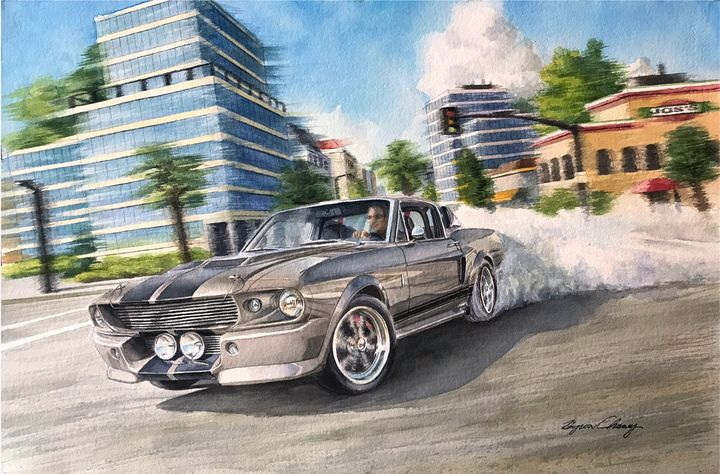 Eleanor Burnout - Byron Chaney's Illustration and Design
