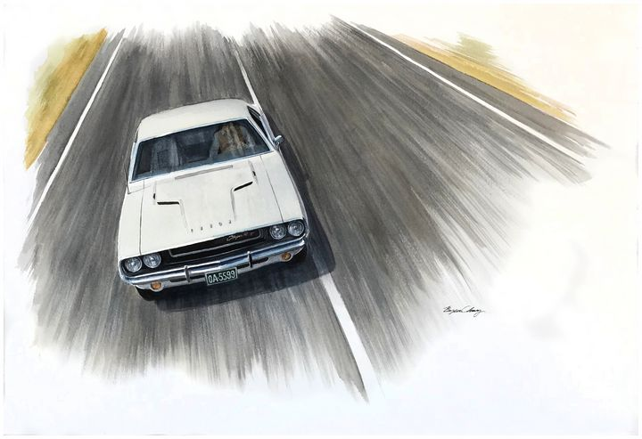 Vanishing Point Challenger - Byron Chaney's Illustration and Design