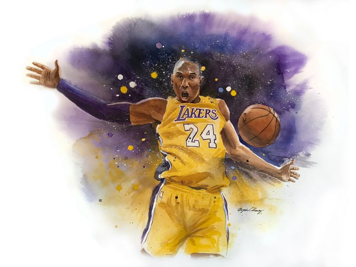 Kobe Bryant - Byron Chaney's Illustration and Design