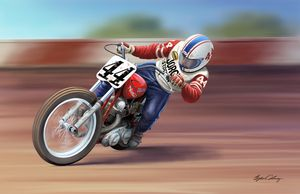 Flat Tracker power slide - Byron Chaney's Illustration and Design