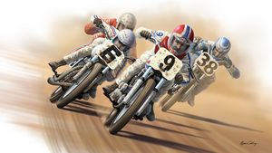 Out of Turn Four - Byron Chaney's Illustration and Design