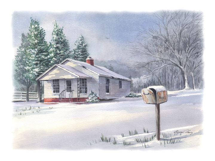 Wingard House - Byron Chaney's Illustration and Design