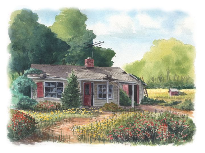 Abandon Spring House - Byron Chaney's Illustration and Design