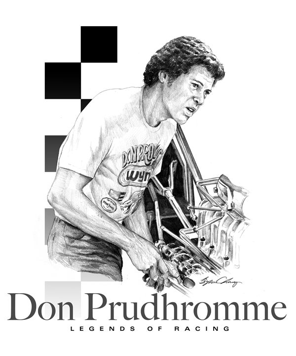 Don Prudhromme Portrait - Byron Chaney's Illustration and Design