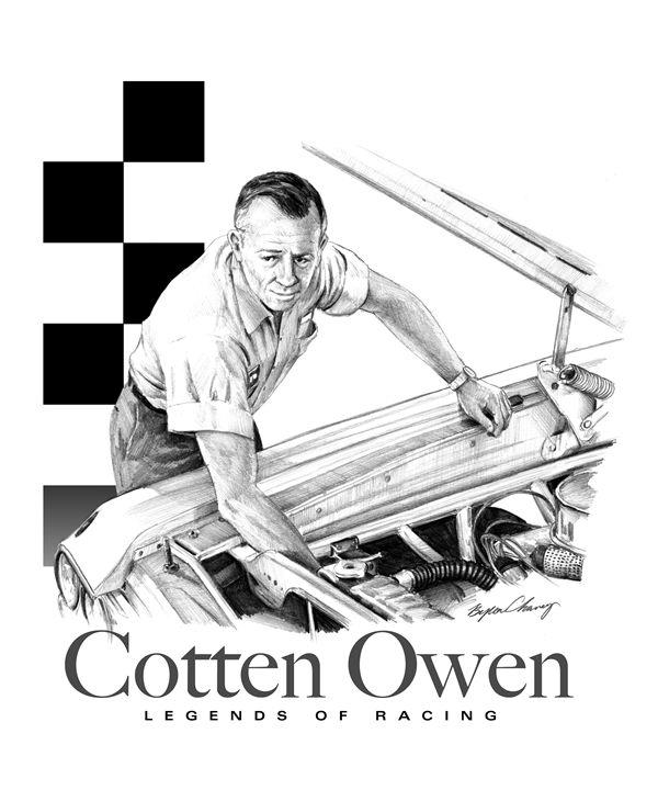 Cotten Owen Portrait - Byron Chaney's Illustration and Design
