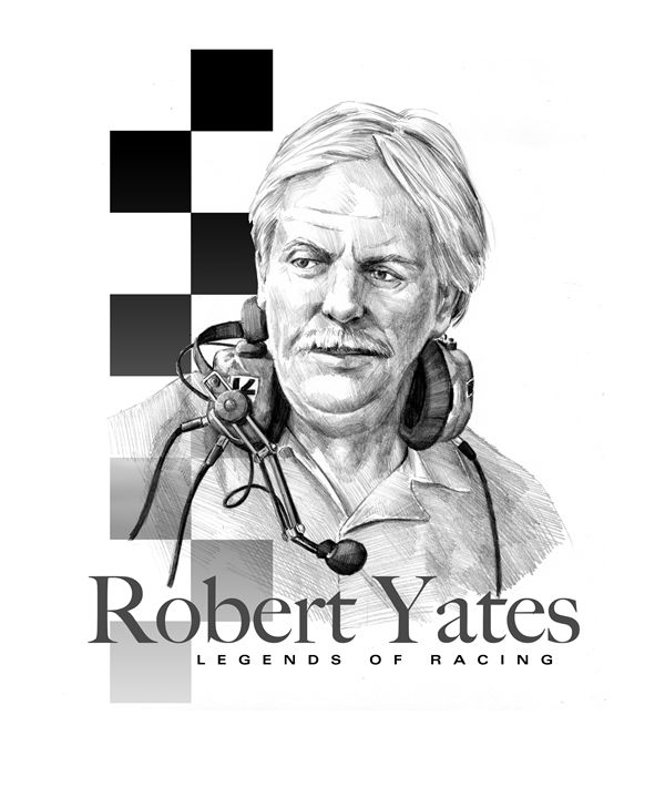 Robert Yates Portrait - Byron Chaney's Illustration and Design