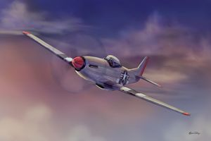 P51 Mustang - Byron Chaney's Illustration and Design