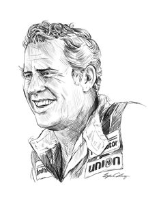 David Pearson digital portrait - Byron Chaney's Illustration and Design