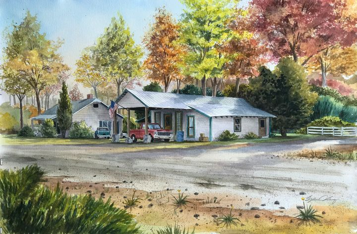 Waxhaw Shack House - Byron Chaney's Illustration and Design