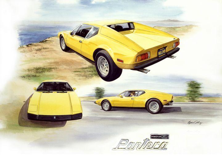 1972 Pantera - Byron Chaney's Illustration and Design