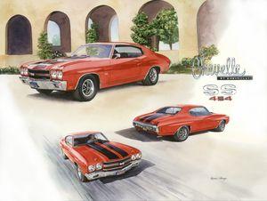 1970 LS6 Chevy Chevelle