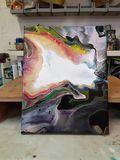Ayrlic paint pours