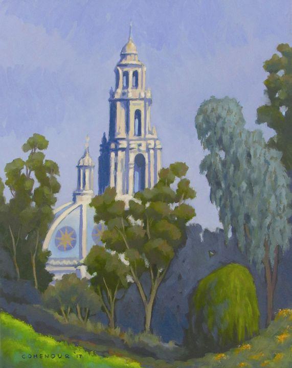 Cabrillo bell tower - Mark D Shark