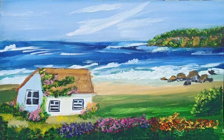 A house by the beach - Akshata