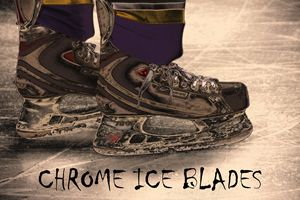 Chrome Ice Blades - Karol Livote Photography