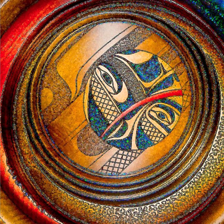 Haida Style Native Art 11 - Native American Art