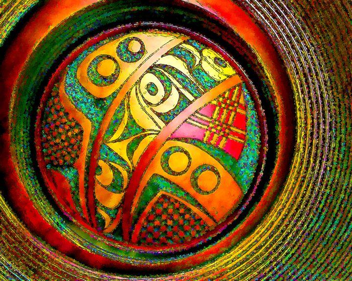 Haida Style Native American Art 14 - Native American Art