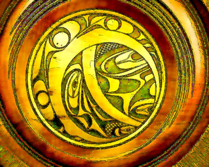 Haida Style Native American Art 19 - Native American Art