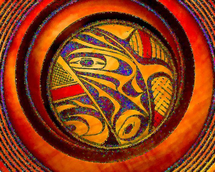 Haida Style Native American Art 22 - Native American Art