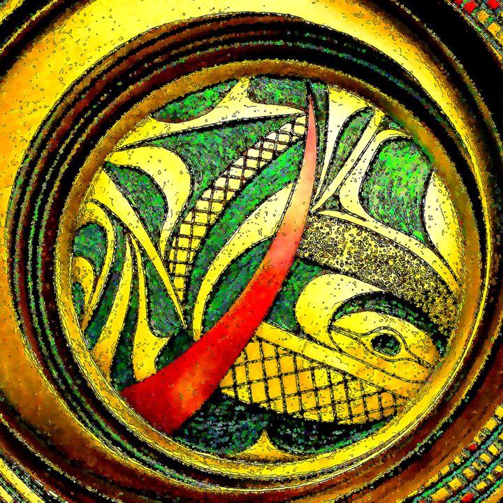 Haida Style Native American Art 24 - Native American Art