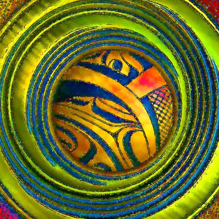 Haida Style Native American Art 32 - Native American Art