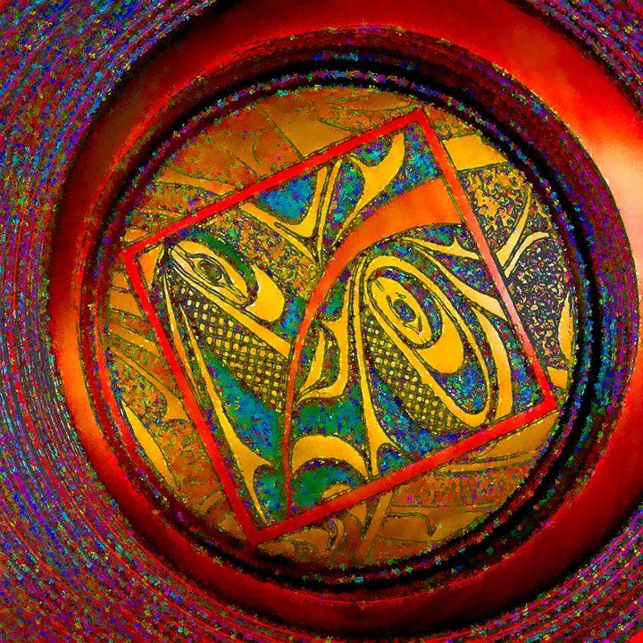 Haida Style Native American Art 33 - Native American Art