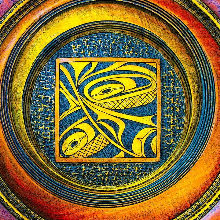 Haida Style Native Art 6 - Native American Art