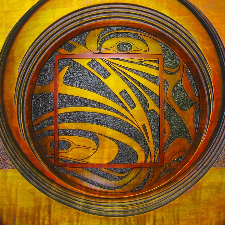 Haida Style Native Art 5 - Native American Art
