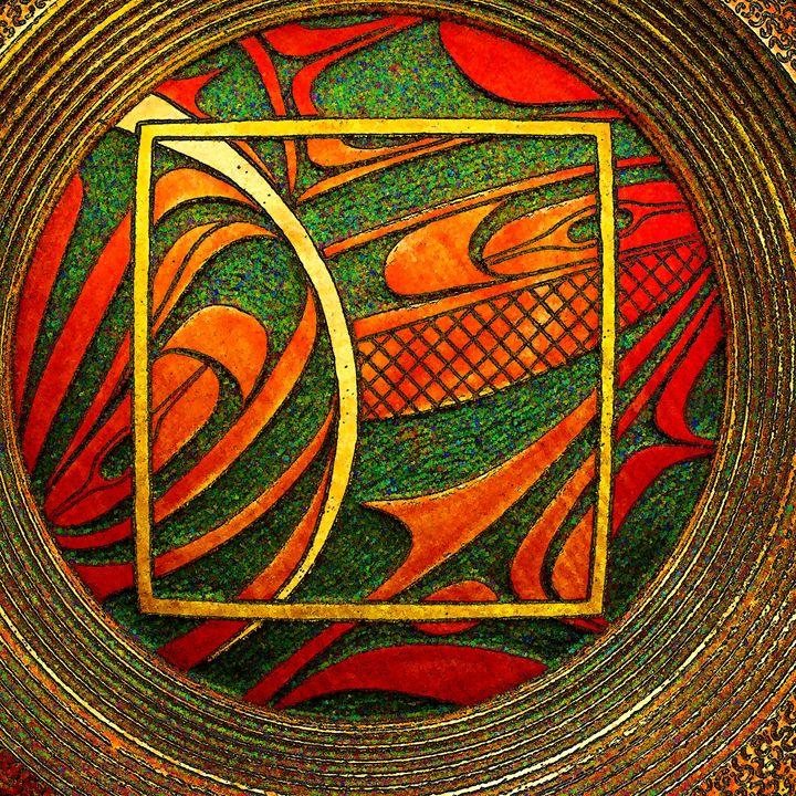 Haida Style Native Art 3 - Native American Art