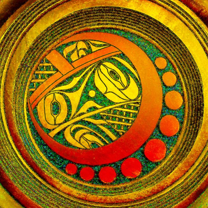 Haida Style Native Art 2 - Native American Art