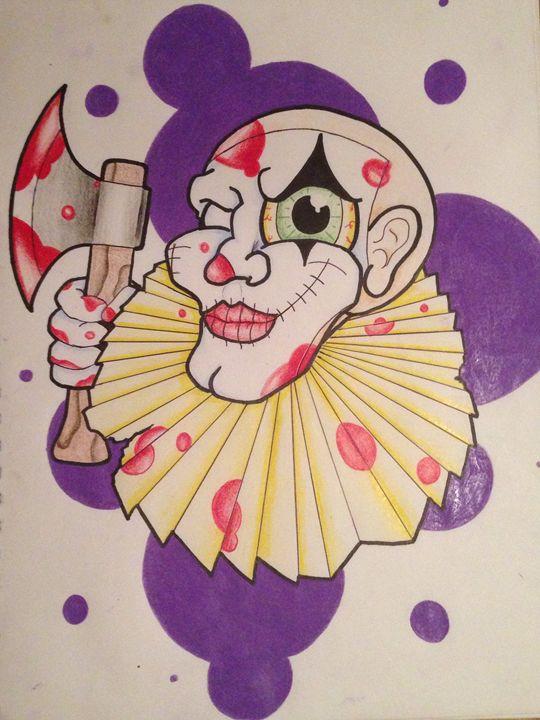 Clowning around - comic and cartoon