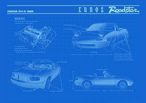 roadster blueprints