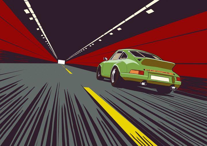 green 911 - Wilhelm artwork