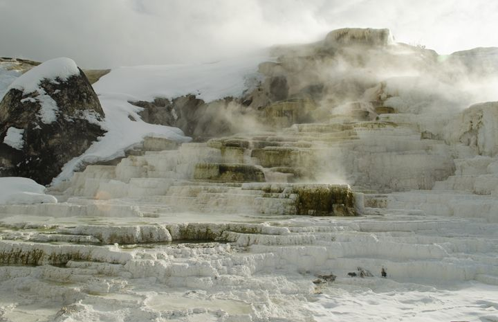 Mammoth Hot Springs - Julia's Travel Memoirs
