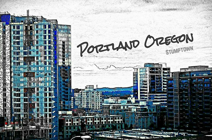 Portland,Oregon #1 - ANM ART