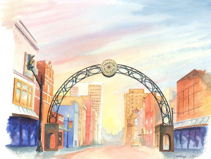 Main Street - Jon Fuchs Art