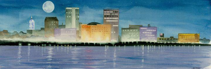 Reflections of Evansville - Jon Fuchs Art