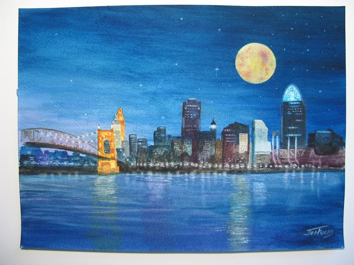 Reflections of Cincinnati - Jon Fuchs Art