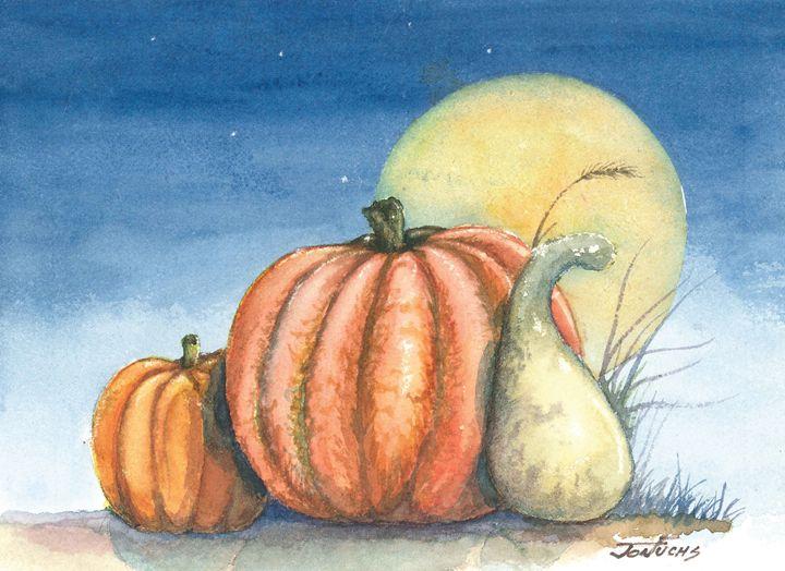 Harvest Moon - Jon Fuchs Art